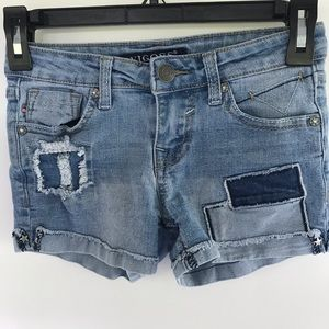 Vigoss brand jeans short size 10 in girls